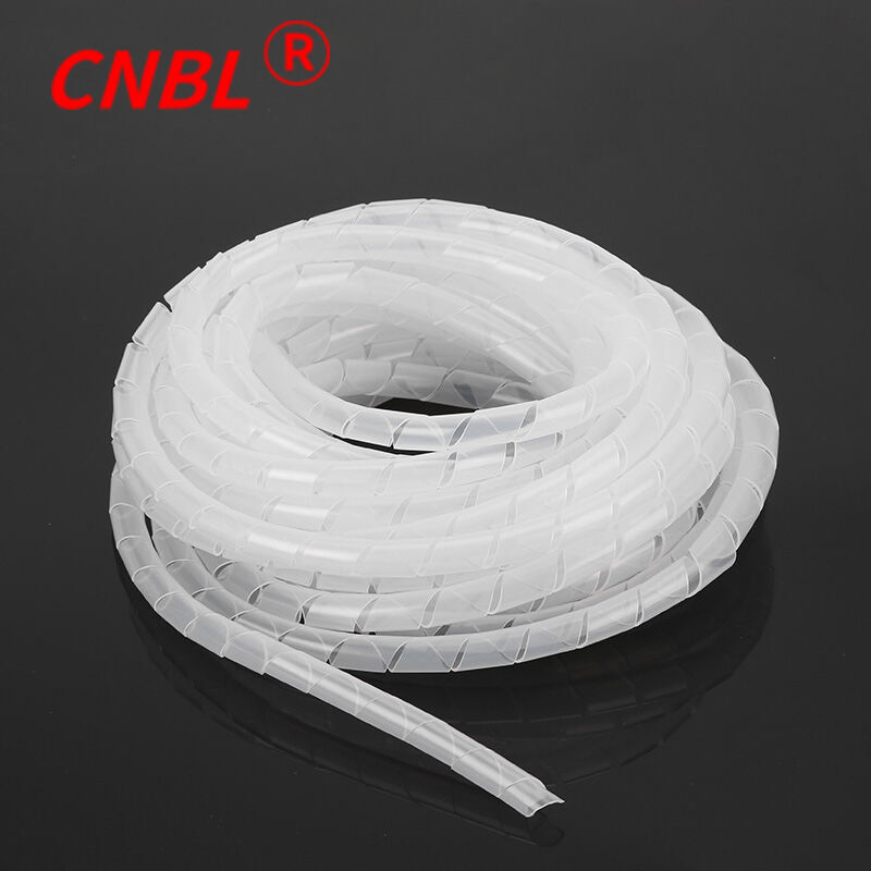 Benlong Winding Pipe Environmental Protection Flexible Conduit Roll End Protective Belt 3/4/5/6/8/10/12/14/30 Black and White