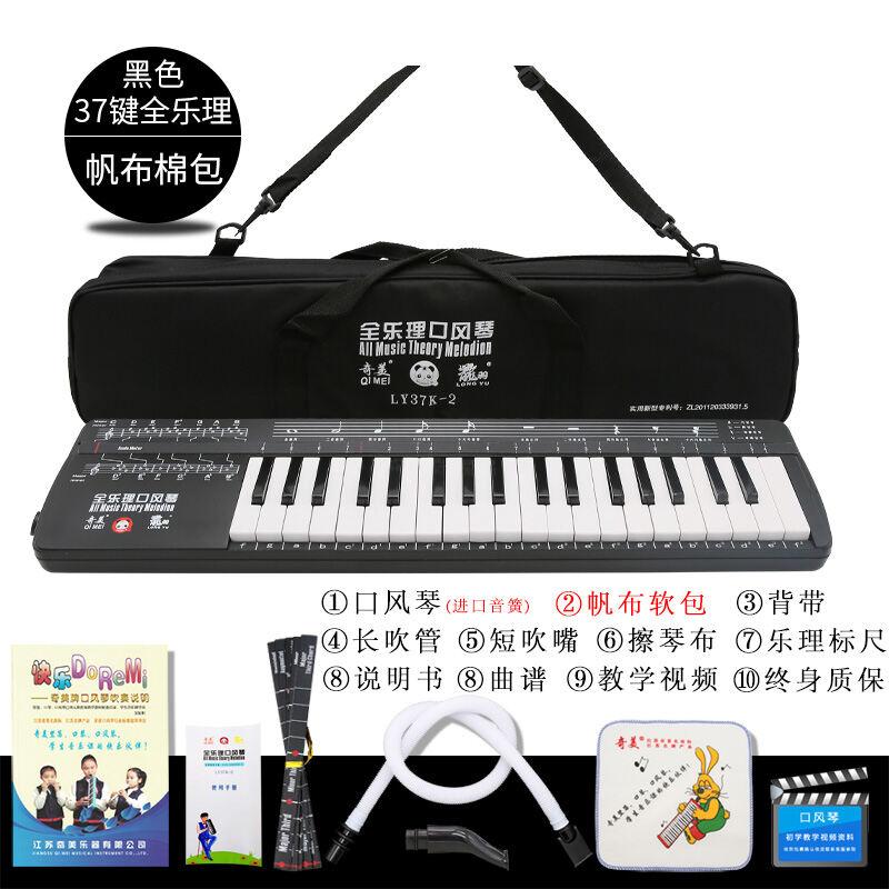 Qimei Hamonica 37 Key Full Music Theory Hamonica Students Use Childrens Classroom Playing Musical Instruments to Send Blowing Tube Bolwtorch Malaysia
