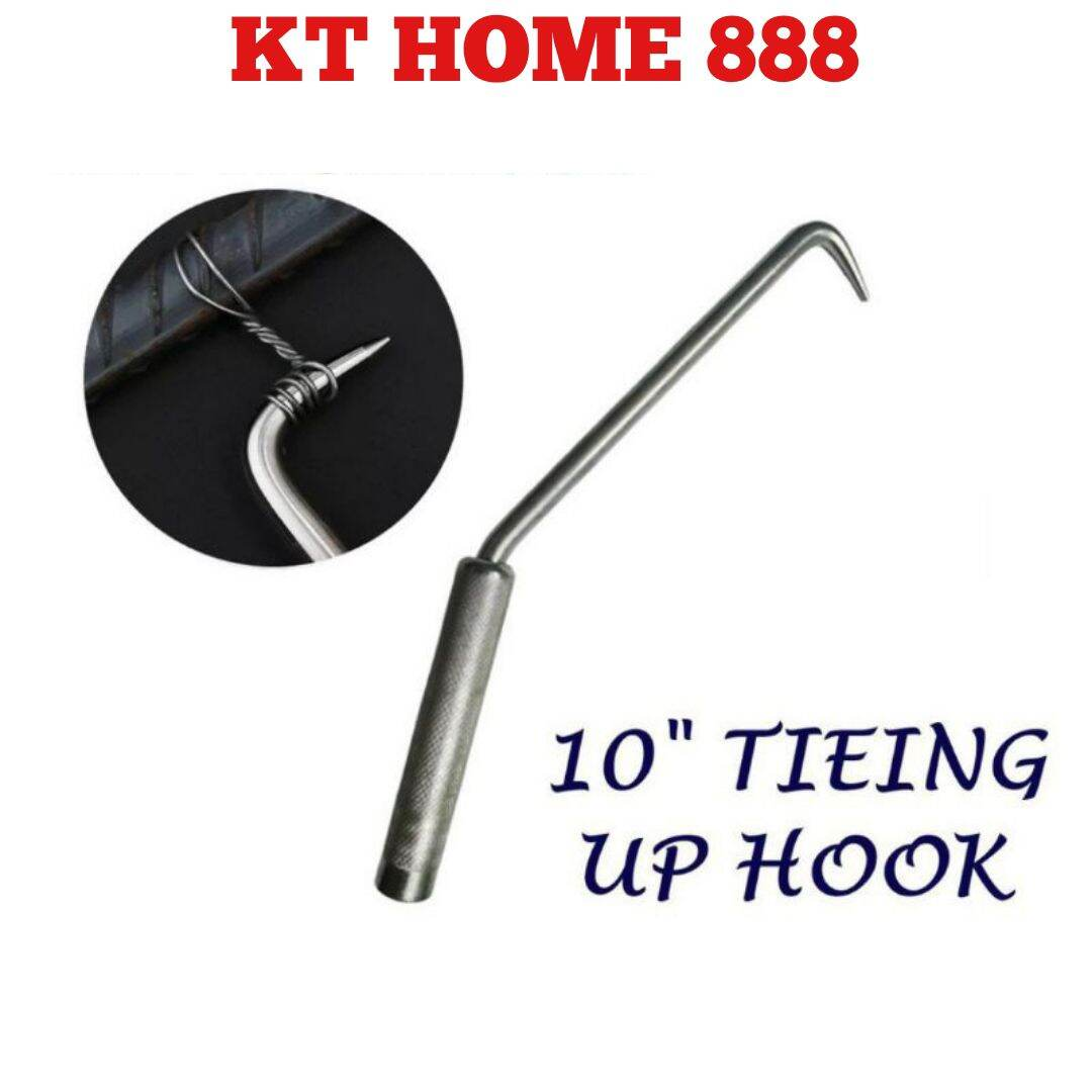 """10"""" Reinforcing Bar Tieing-Up Hook Rebar Wire Tie Tool wair hook 10 INCH (250mm) wire hook for construction"""