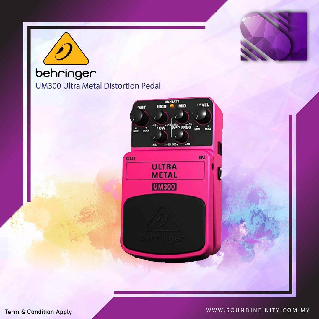 Ultra Metal Distortion Behringer Um 300 Malaysia