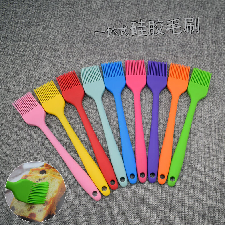 Small Number One-piece Silica Gel Brush BBQ Barbecue Brush Oil Brush Butter Cream Sweep Egg Sweep