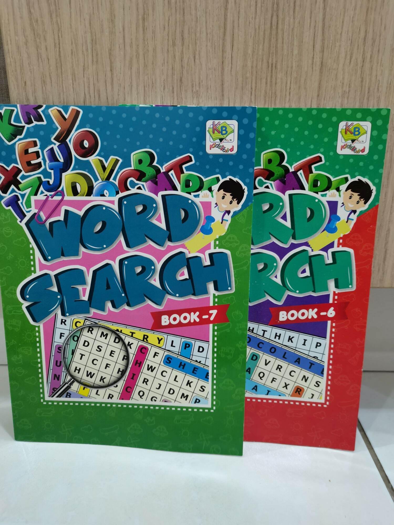 ★ReadyStock★ English Word Search Book Education Puzzle📖 Buku Cari Kata💡 Malaysia