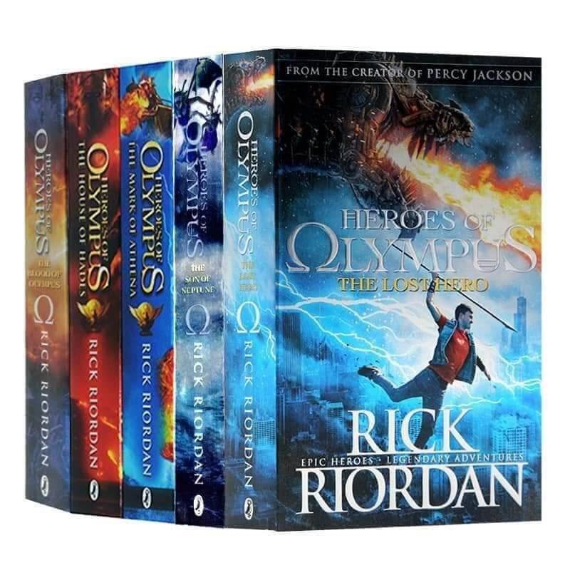 UK Heroes of Olympus 5 Books (Percy Jackson 2) Malaysia
