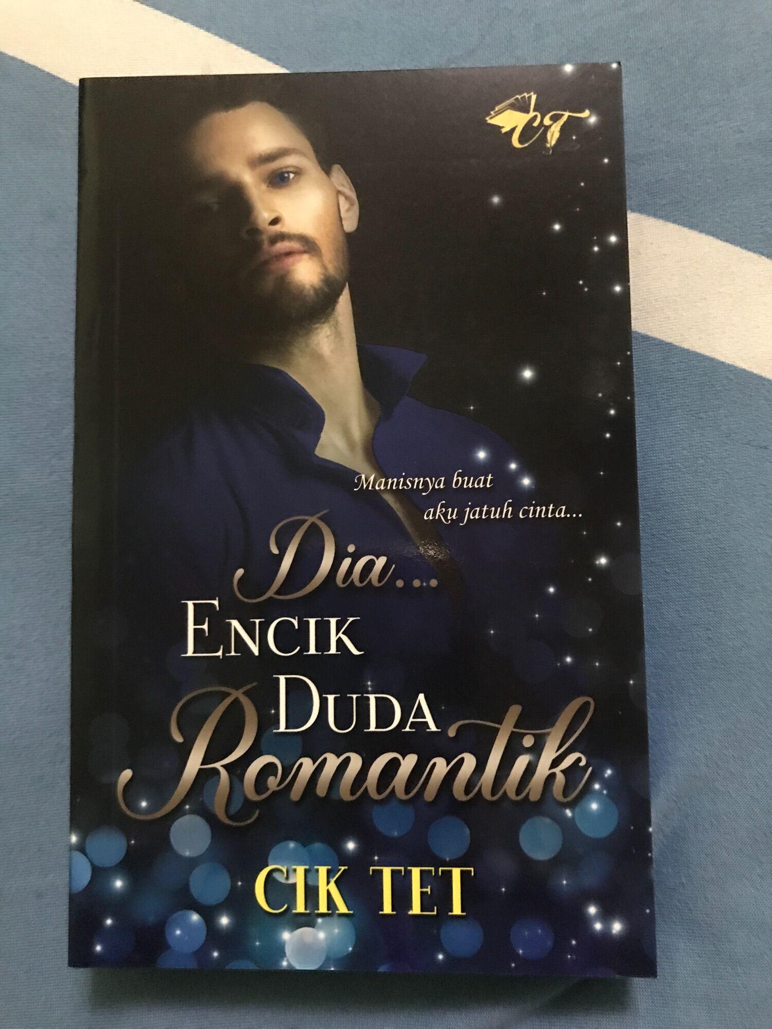 NOVEL BARU DIA ENCIK DUDA ROMANTIK KARYA CIK TET Malaysia