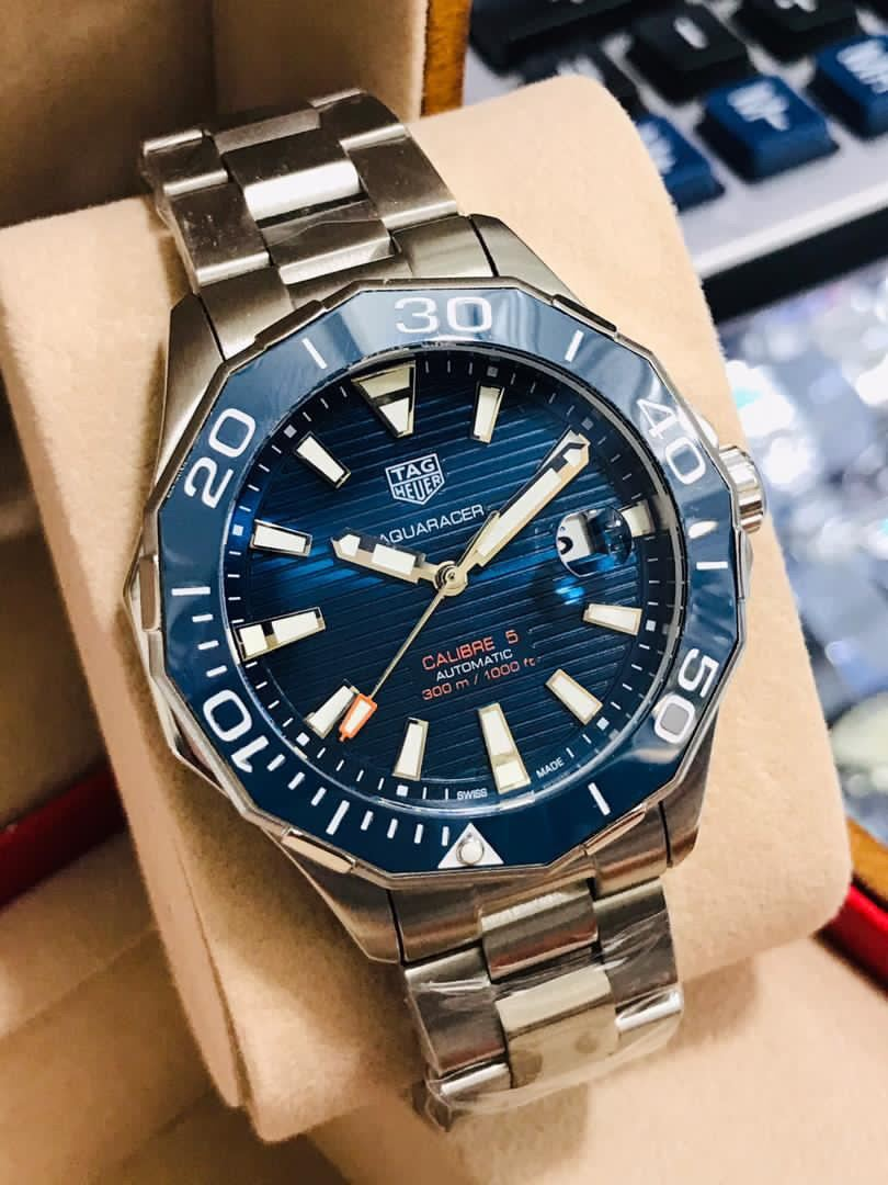 TAG_HEUER CALIBER 5 automatic watch for men Malaysia