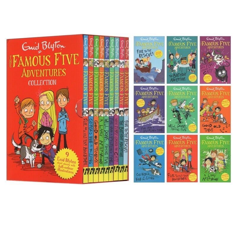 Famous 5 Short Stories Collection (9 books set) Malaysia
