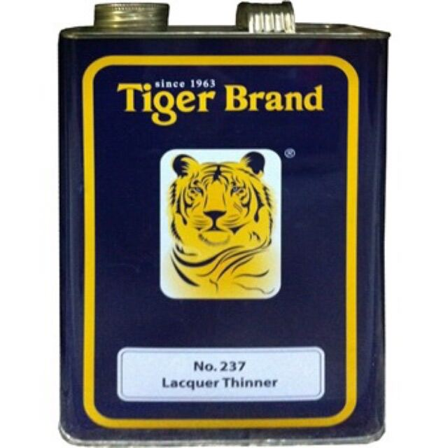 [100% ORIGINAL] TIGER BRAND INDUSTRIAL LACQUER THINNER NO.237 - 1 GAL