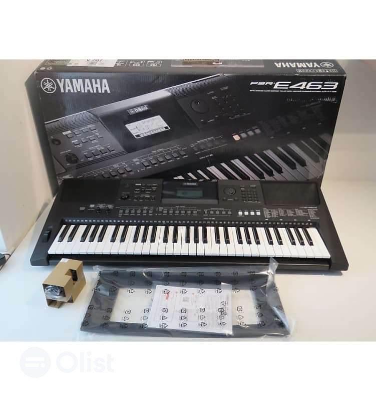 Yamaha Keyboard PSR E463 / Keyboard Yamaha Portabel PSR E-463 Arranger Malaysia