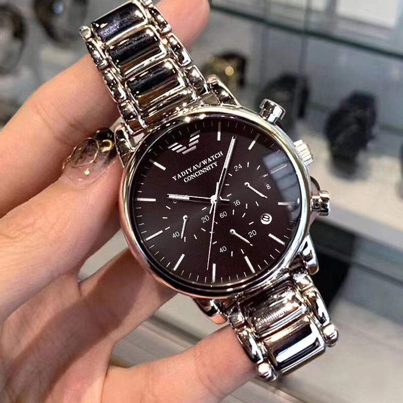 Genuine Amani Watch Mens Mechanical Watch Qi Qi Ten College Students Waterproof Substitute Business Mens Watch Trendy Brand Malaysia