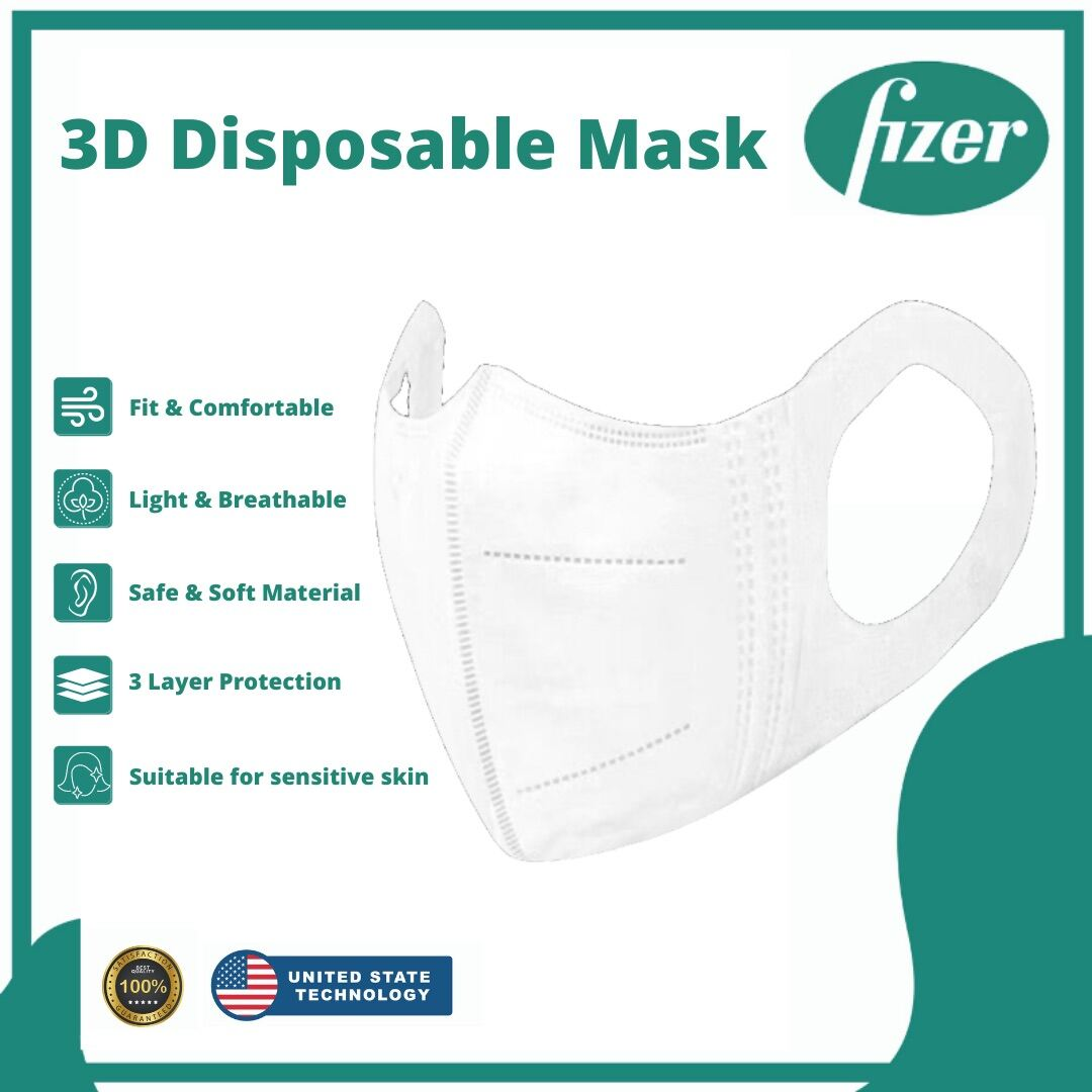 【READY STOCK】3D Disposable Mask