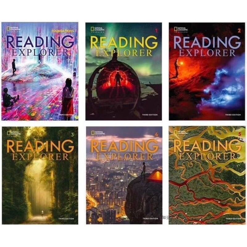 National Geographic Reading Explorer 3rd Edition 6 books Full set Malaysia
