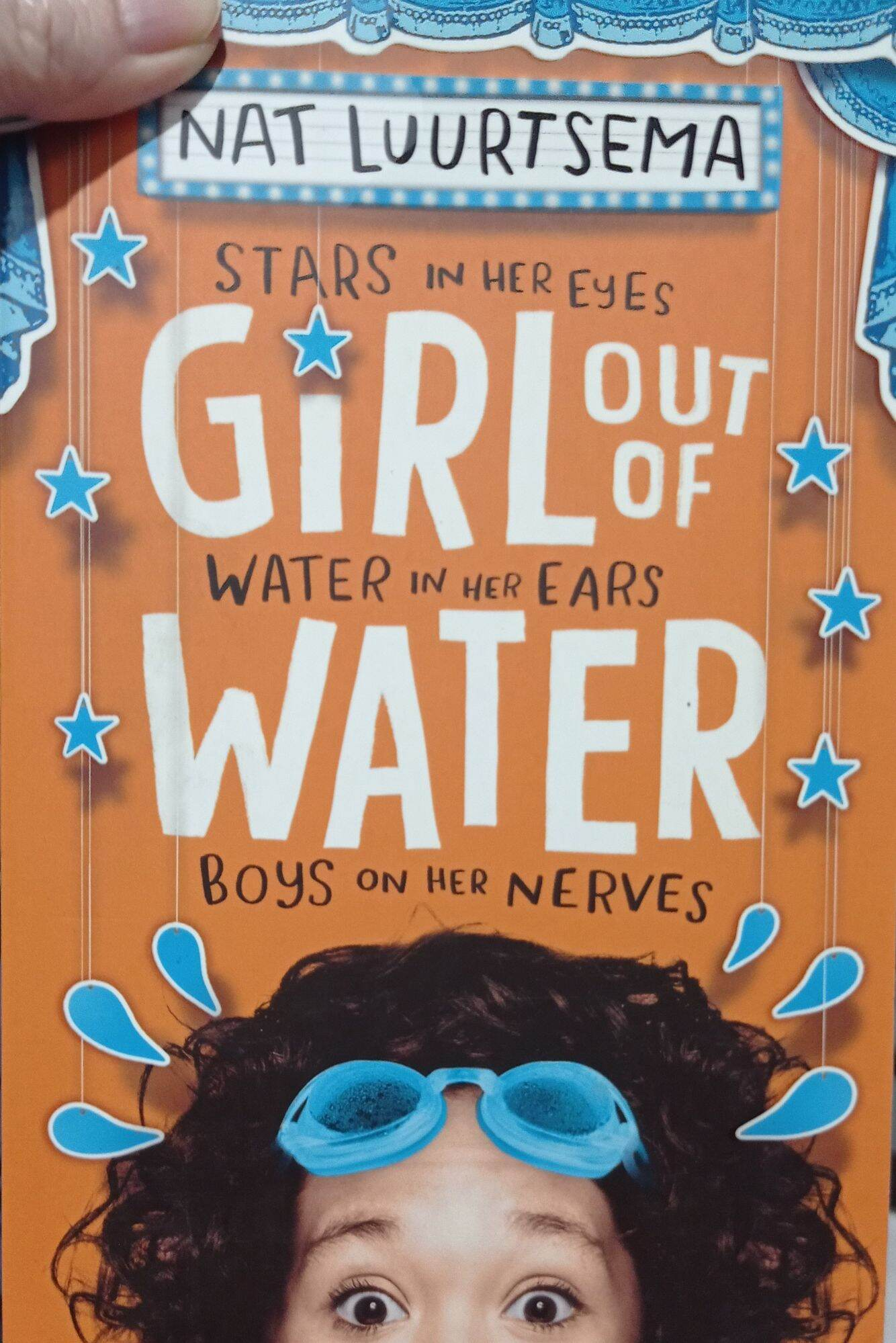 Clearance old stock - Girl Out of Water by Nat Luurtsema - Paperback - Original Guaranteed Malaysia