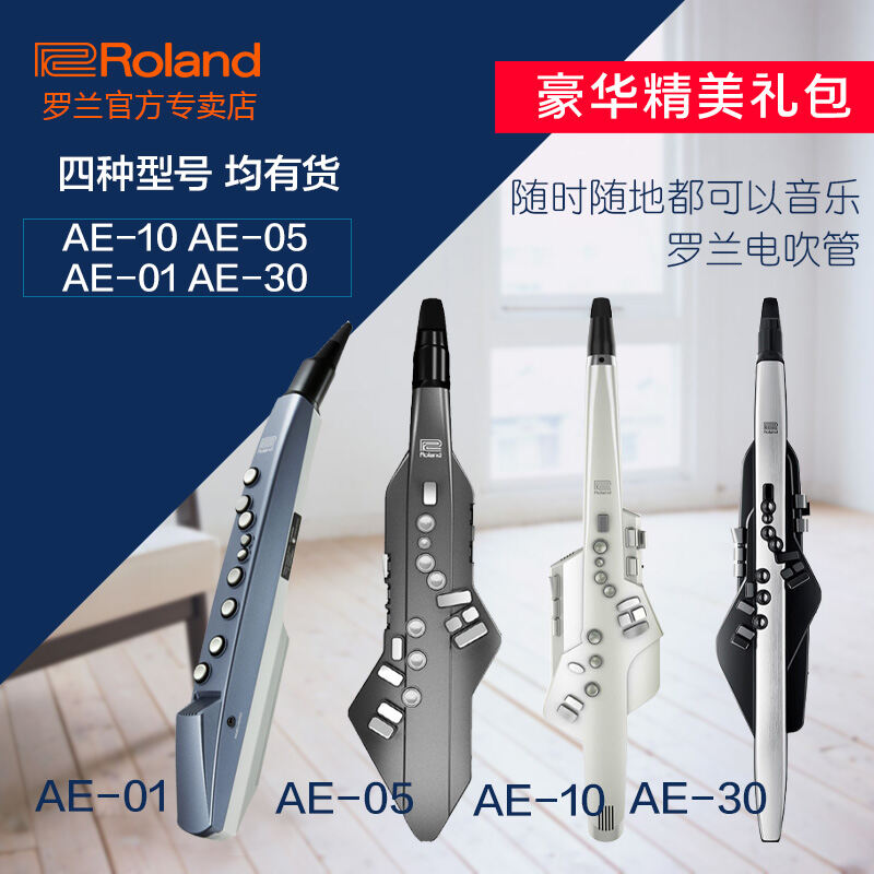 Roland AE-01 AE10 Electrical Blowpipe Electric Saxophone AE-05 with Audio Source Speaker AE-10 Electronic Musical Instrument Malaysia