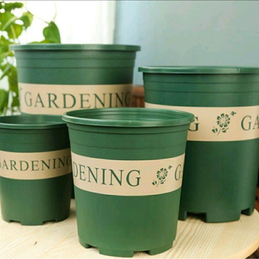 Garden Flower Pots & Planters 0.5 - 2.0 Gallon Planter Pots Pasu Bunga