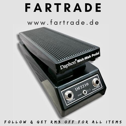Fast Delivery | Ready Stock | Pre-Loved | SH durable Daphon DF2210 Classic Wah-Wah Pedal Wah Guitar Effect Parts Accessories Malaysia