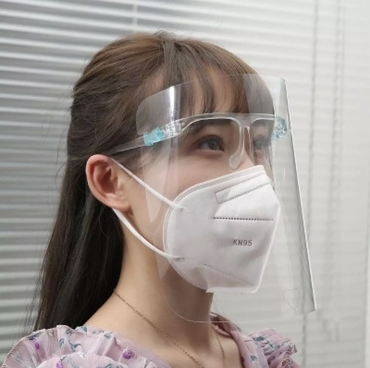 🇲🇾Ready Stock🇲🇾Transparent Face Shield Protective Mask with Glasses Cover  眼镜防护面罩