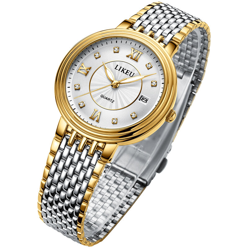 Genuine Ultra-Thin Waterproof Fine Steel Belt Fully Automatic Mechanical Watches Men COUPLES Watch Students MENS Watch WOMENS Watch Quartz Watch Malaysia