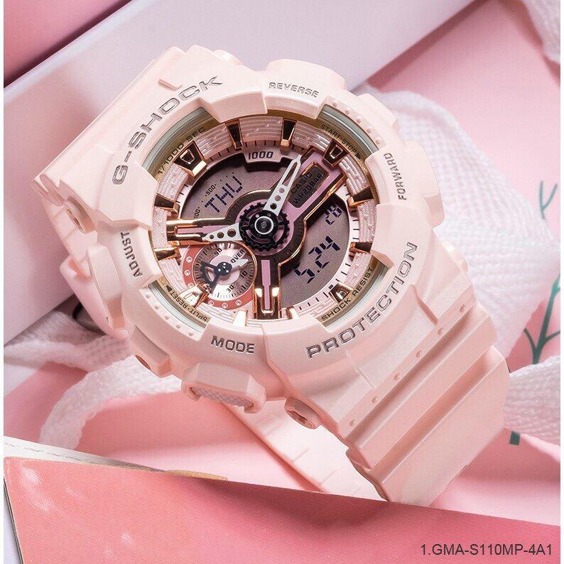 G Style Shock Watch Peach color Digital Jam Tangan Digital Analog Latest Watch Malaysia