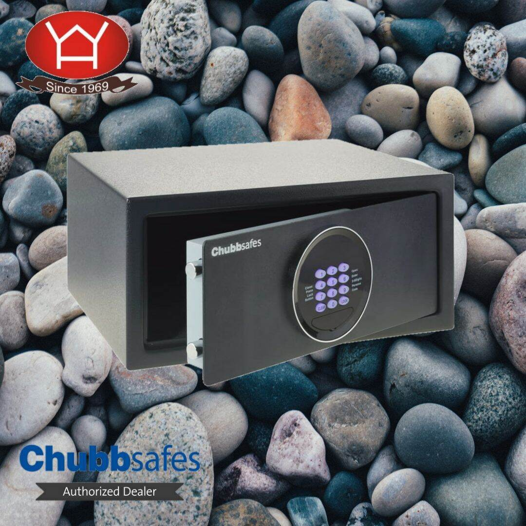 Chubbsafes Air Hotel Electronic Lock c/w overriding key (12KG)