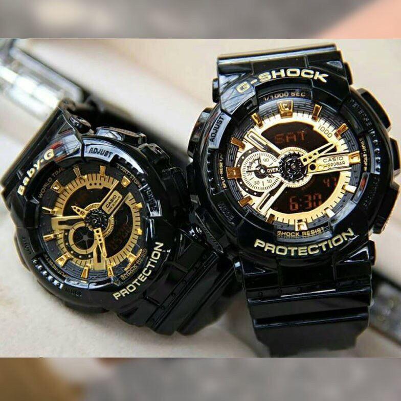 Couple set watch Digital Watch G Style Shock jam tangan couple set Malaysia