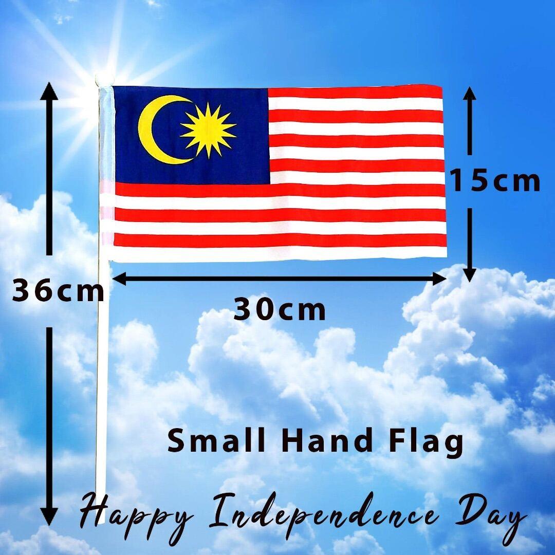 Malaysia flag (small hand hold flag) 30cm x 15cm