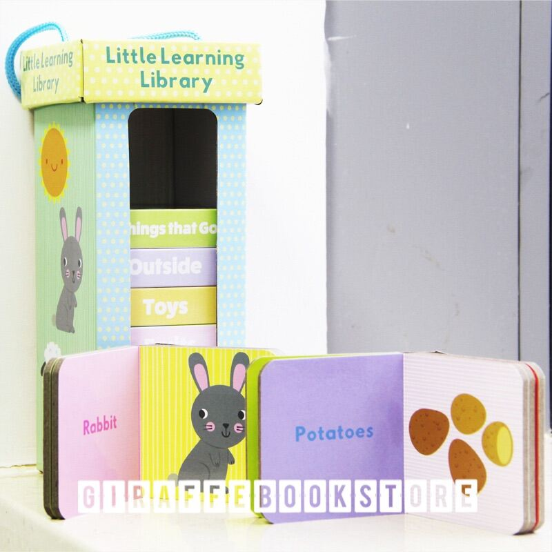 🔥HOT SALE🔥【Little Learning Library】 10 in 1 box kids Early English learning broad books flash card Malaysia